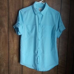 Chicos Short Sleeve Blouse
